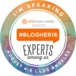 2016 Conferences – I'm Speaking At BlogHer 2016